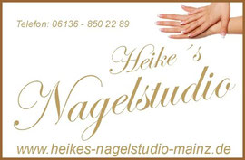 Heikes Nagelstudio in Mainz, Gelnägel und Nageldesign