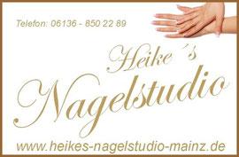 Heikes Nagelstudio in Mainz, Gelnägel und Nageldesign