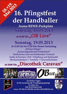 18. - 19.05.2013 Pfingstfest der Handballer Auma