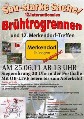 Brühtrogrennen/Merkendorf-Treffen 24. bis 26.06.2011