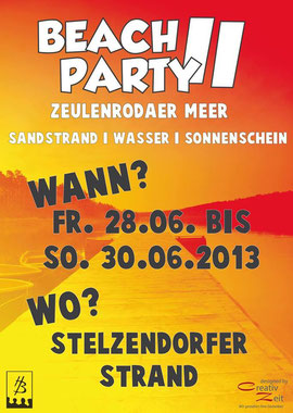 28. - 30.06. Beachparty Stelzendorfer-Strand
