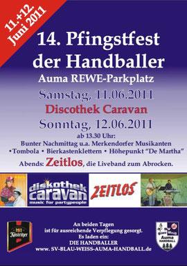 Pfingstfest Auma 11. bis 12.06.2011