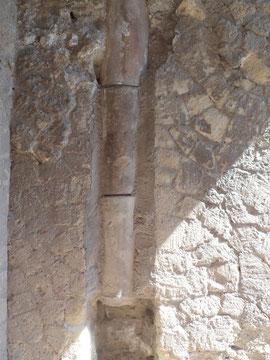 Tuberías en una casa particular de Herculano