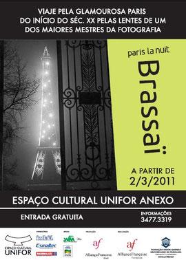 Affiche de l'exposition à Fortaleza