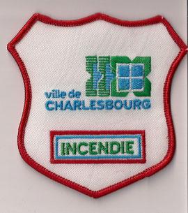 Ville de Charlesbourg - Incendie  (Defunct / Obsolete)  (Neuf / New)  1x