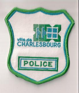 Ville de Charlesbourg - Police (Vert/Green)  (Defunct / Obsolete)  (Neuf / New)  1x