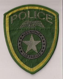 Police Los Angeles  (Vert/Green)