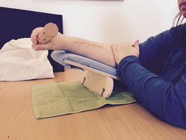 Funktionstraining Handtherapie