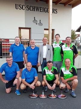 ESV St. Martin, USC Schweiggers mit Bürgermeister Josef Schaden