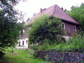 Das ehemalige Forsthaus Klunker im Hohwald
