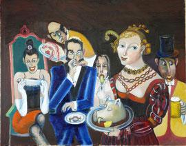 Petite Bouffe avec Salomé et ses amis
