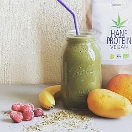 Smoothie Hanfsmoothie Hanfprotein