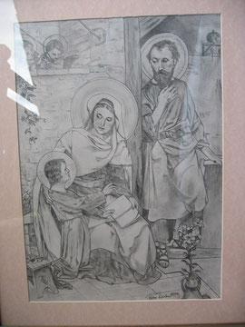 Jesukind zu Besuch bei Maria u.Josef - 2004