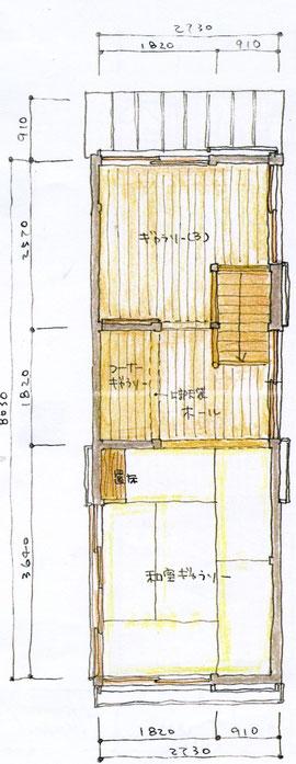 ブレーメンハウス2階見取り図