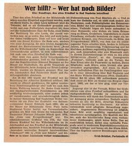 Wetterauer Zeitung vom 15. Dezember 1964