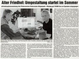 Wetterauer Zeitung vom 9. Juni 2009