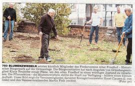 Wetterauer Zeitung vom 3. Nov. 2007