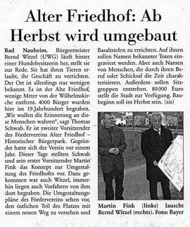 Frankfurter Neue Presse vom  26. März 2008