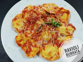 Ravioli Burrata Pomodoro