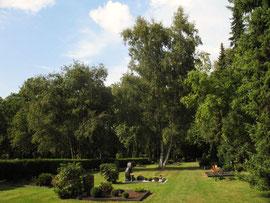 Auf dem Alsdorfer Nordfriedhof (Foto: Wolfgang Voigt)
