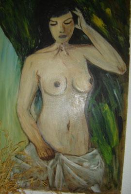Inacabada - Oleo sobre lienzo 1980