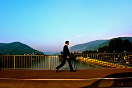 Moments while passing bridges