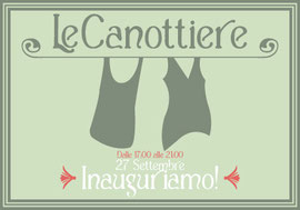 Le Canottiere opening postcard