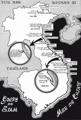 Gefangenencamps in Indochina