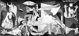 exemple d'oeuvre étudiée en classe de 3ème : Guernica