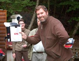 Danny Holler gewinnt ein Vixen-Fernglas