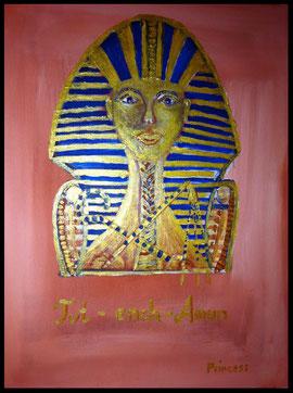 Tut ench Amun 30 cm mal 40 cm Preis 1888,oo Eu    m