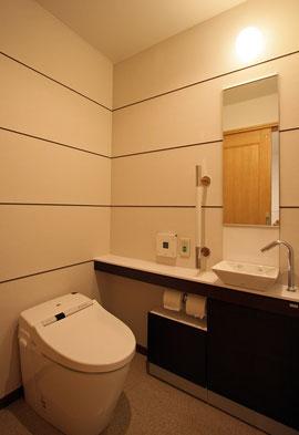 改装後 LDR室トイレ