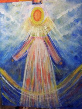 Engel, Schutzengel, Acryl, Thoenes