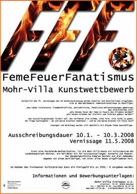 FFF Kunst-Biennale 2008 Feuer Feme Fanatismus