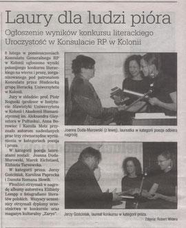 """Artykuł ukazał się w numerze 4(347) dwutygodnika """"Samo życie"""" 26.02-11.03.2011"""