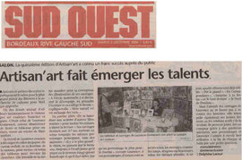 Journal Sud-Ouest 02.12.2006