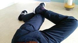 抜けそうな腰の痛みを治すストレッチ