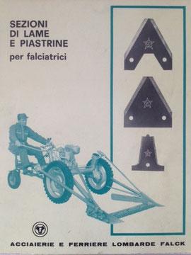 Katalog Stella Falck  - Milano 1968