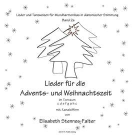 Noten für die Speedy-Mundharmonika: Lieder für die Advents- und Weihnachtszeit