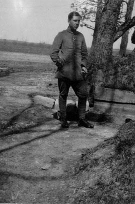 Wilhelm Gerig als Soldat