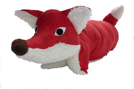Tierkissen Fuchs rot-Teddy