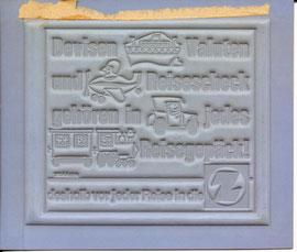 Devisen, Valuten und Reiseschecks gehören in jedes Reisegepäck! Deshalb vor jeder Reise in die Z (Boot, Flugzeug, Automobil, Zug). Zentralsparkasse Traimer 1965 (um) Klischee