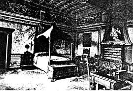 La Camera di San Carlo come era allestita presso Palazzo Frisiani