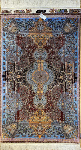 QUM silk  MOHAMMAD JAMSHIDI工房 チャラクサイズ