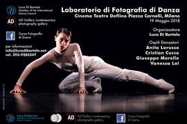 Corso di fotografia di scena in studio con flash a cura di Luca Di Bartolo - Ravenna