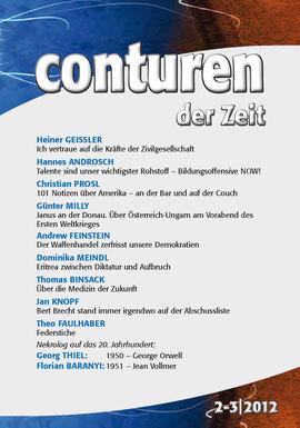CONTUREN Nr. 02 + 03 / 2012