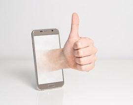 téléphone cliquable sur site internet avec e-cime.fr