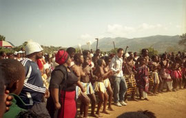 dancing with the Nkomazi Cultural Group in South Africa [2006]