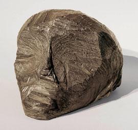 Kopf aus Tienanmen, 1989, Bronze, 3/6 Exemplare, Höhe 16,5 cm