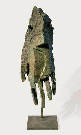 Hand 60, 2007, Bronze, 9 Exemplare, Höhe 36 cm